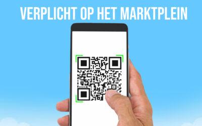 Covid Safe Ticket op het Marktplein tijdens Schoten Geniet!